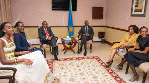 Kagame and HMD