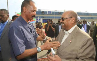 Eritrea and Sudan leaders