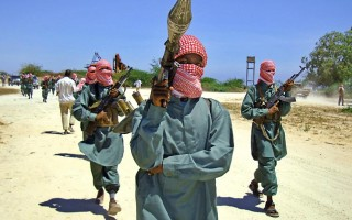 Al Shabaab fighters- AFP