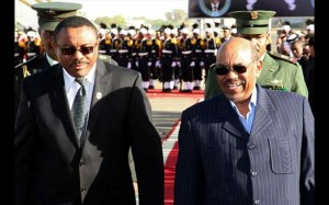 Sudan and Ethiopia leaders