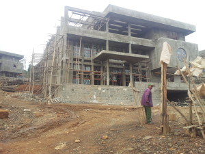 Luxury Mansions Under Construction @Wazema