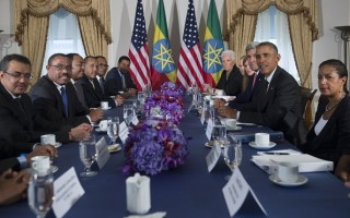 US and Ethiopia delegation meeting 2015