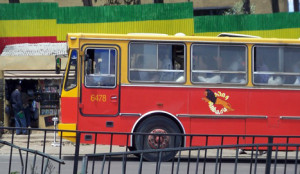 Addis Ababa Anbesa Bus