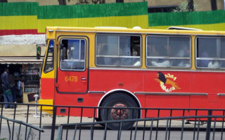 Addis Ababa Anbesa Bus-FILE