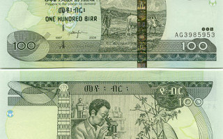 Ethiopian currency note
