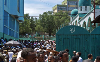 Mosque in Addis Ababa