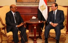 Presidnt Al Bashit and President Al Sisi-FILE