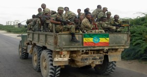 Ethiopian Army members- PHOTO-FILE