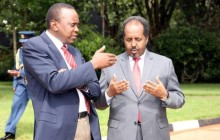 Somalia and Kenya leaders