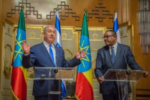 PM Netanyahu and PM Hailemariam