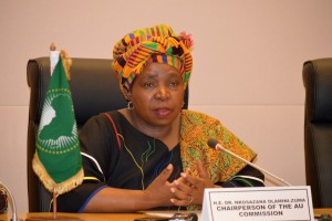 AU comission chair Dlamini-Zuma