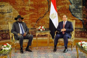 EGYPT and South Sudan leaders