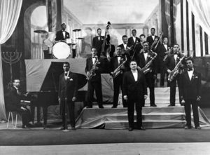 Nalbandian during 1950's performance with one of the famous band at the time