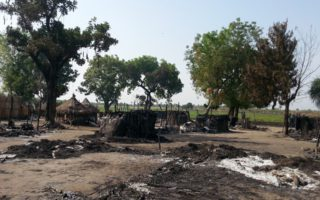 One of the sites attacked in Gambella- SM