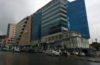 One of the recently built complexes in Addis, Churchill Road -Wazema