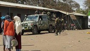 Gov Forces in Moyale - Photo SM