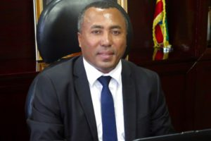 Outgoing CEO Andualem Admassie PhD