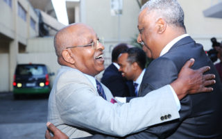 ODF Lencho Leta and Abadula Gemeda of EPRDF